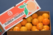 Box of Juice Oranges